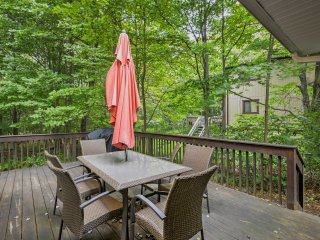 Look forward to spending time outside on the expansive deck.
