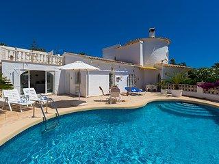 Villa Tiffany en Teulada-Moraira ,Alicante para 4 huespedes