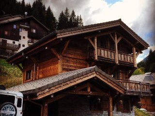 Luxury ski in ski out chalet Porte du soleil  Morzine Avoriaz catering available