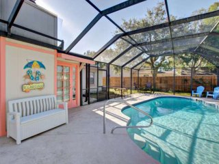 MAY SPECIAL! Quiet Screen Pool Home in Lovely Daytona Area, Private Yard-Boat/RV