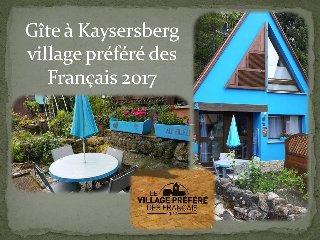 GITE AU BLEUET KAYSERSBERG ALSACE