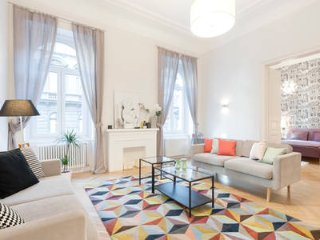 Magazine Featured 2 Bedroom Apartment - Central Budapest