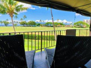 Spacious, tropical getaway w/ resort pools, views of golf course and ocean!