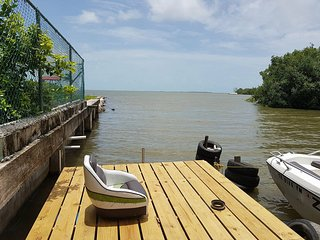 Enjoy TRANQUIL views of the Caribbean Sea from Belize Tranquil Sea View Rental!