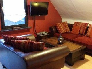 Schöne, geschmackvoll eingerichtete Ferienwohnung in Mechernich, Nord-Eifel