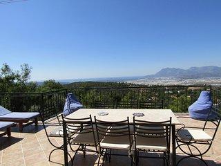Private villa in superb location,fantastic views and private pool