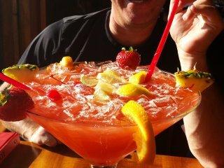 Drank genaamd The Jungle van Red Parrot gemaakt voor twee personen
