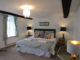 Lady Penny's suite with original beams