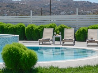 Depis Naxos Superior villa with private  jacuzzi & pool