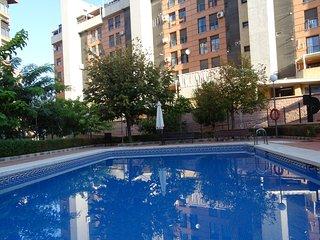 Apartamento Parque Almunia, parking privado