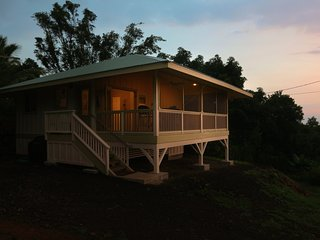 Relax in style on a peaceful Kona Coffee Farm