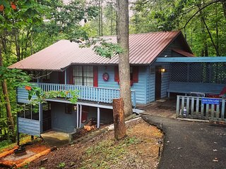 APPLE VALLEY LODGE -Rustic Family Friendly Cabin (Pigeon Forge & Gatlinburg)
