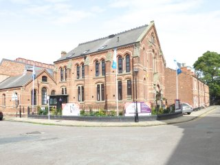 1 CHAPEL PLACE, restored chapel, original stained glass windows, exposed wooden