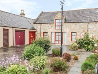 NEWTON OF FORGIE, pet friendly, garage, garden with patio, in Aberlour, Ref