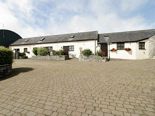 'SGUBOR, open plan accommodation, ceiling beams, twin bedroom, in Llansannan, Re