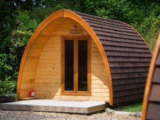 THE HIVE quarry pod - wooden tent, countryside, near Holsworthy, Ref xxxxx