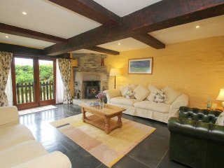 WESTHAYES converted barn, galleried staircase, exposed beams, wood burning