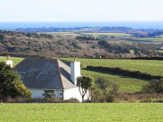 SILVERHILL HOUSE detached country farmhouse, large garden, woodburner, near Falm