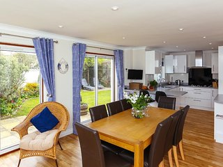 GLEBE HOUSE, large modern family residence, enclosed garden, in the village of A