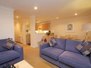 COMPASS POINT terrace cottage in Falmouth, village setting, onsite splash pool