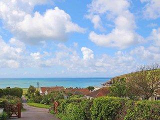 SEA DRIFT, bungalow, mature garden, sea views, Praa Sands, Cornwall, Ref *****
