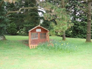 TRELAZE, single storey garden house, 3 acres of beautiful ornamental gardens, co