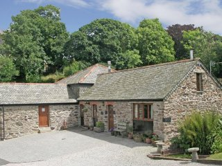 PENVENTINNIE BARN converted stone property, vaulted ceilings, wood burning stove