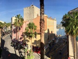 T2 avec magnifique vue sur le port de Sanary