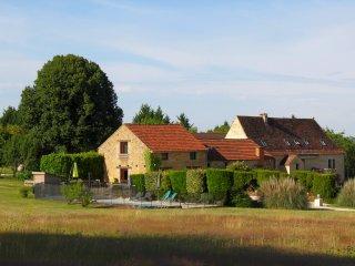 Gite de charme 6/10 pers. PISCINE PRIVEE, en Quercy et Perigord noir, Gourdon