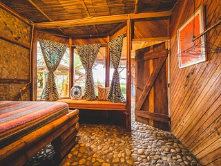 Ocean View from your Bed at Vistamar Ayampe
