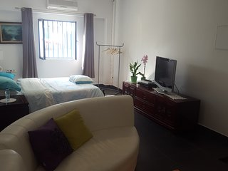 Simpatico Apart c/ 1 Hab y 2 Camas Dobles / Cozy Apt w/ 1 Bedroom + 1 Double Bed