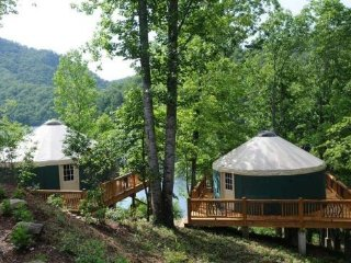 The Yurts at Laughing Trout Camp