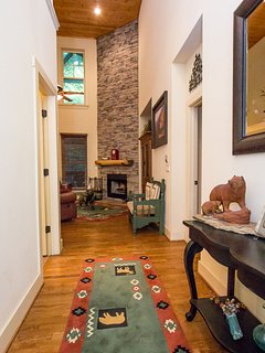Foyer to the living room