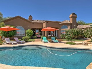 NEW! 6BR Scottsdale House w/ Heated Pool & Mountain Views