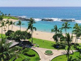 Ko Olina Beach Villas, Beach Tower, Corner Unit B-402, Private Ocean Views