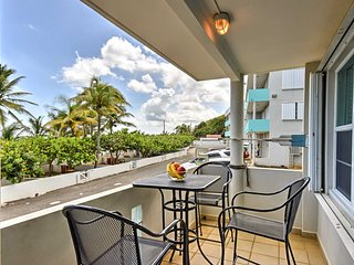 Beachfront Manati Condo w/Private Balcony!
