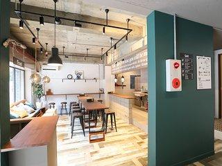 Modern Guest House GUSH Shinsaibashi 2B