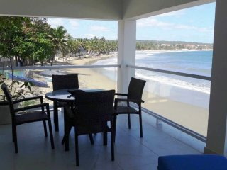 New 2BD Beachfront Condo in Central Cabarete, Sea Views, Near Everything!