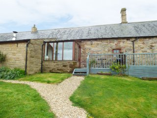 THE STABLE, pet friendly, character holiday cottage, with hot tub in Milton, Ref