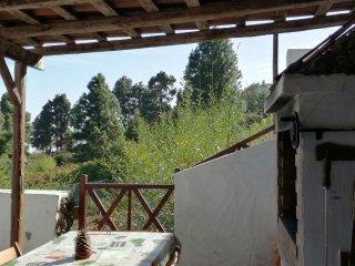 Landhaus, 1 Zimmer ( 25m2 ) mit Terrasse + Grill zum Garten