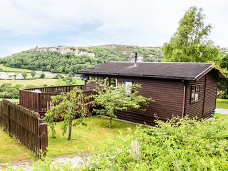 ALPINE LODGE, with WiFi and a garden in Rhyd-Y-Foel, Ref 1797