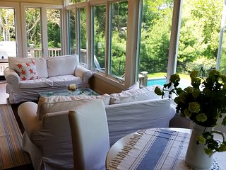No Sat move-ins pls! Beautifully Restored Sag Harbor Cape with Heated Pool/Spa