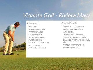 Golfer's Paradise at Grand Bliss Riviera Maya - Golf and Spa Resort