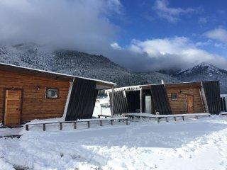 La Aldea Malalcahuello, Cabins de Montana, Malalcahuello, Araucania, Chile