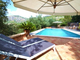VILLA PORT SOLLER. Private pool among the nature in Sierra de Tramuntana.
