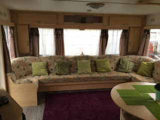 10 berth caravan on sealand