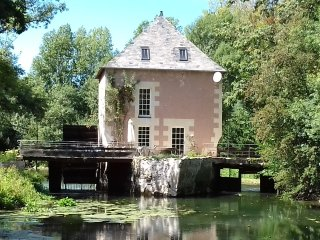 Charming mill on the hearth of the Loire Valley