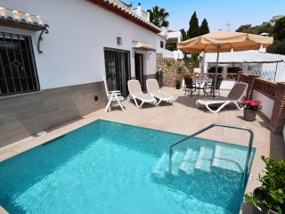 Modern cottage with airconditioning in Nerja