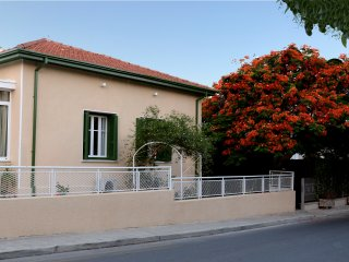 Olive apartment external view