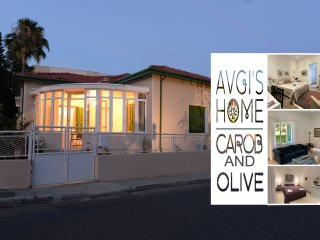CAROB & OLIVE Combination Apartments at AVGI'S HOME - Limassol Cyprus
